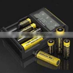 100% authentic nitecore d4 lcd battery charger digicharger d4 4 bay charger nitecore lcd d4 charger