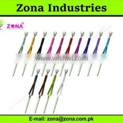 Acrylic Nail Pincher / Cuticle Pusher With Tweezers / Nail Care Tools From ZONA - PAKISTAN