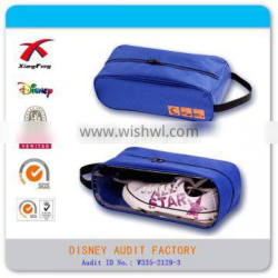 Cheap 600D shoe storage bag nice for promotion gift
