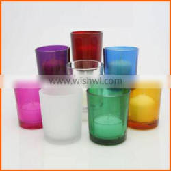 Low price wholesale glass votive candle holders