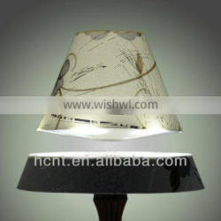 Fancy wedding gift colored rotating lamp shade