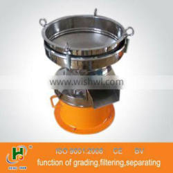 China 450mm movable vibrating processing sifter with CE
