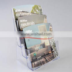 3 Tiers Tabletop Brochure Holder/Magazine Holder/Countertop Brochure Holder