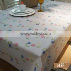 Oilproof PVC table cloth for home and restaurant