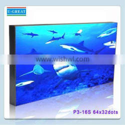 Wide Viewing Angle and High Refresh Indoor 192*96mm P3 LED Module