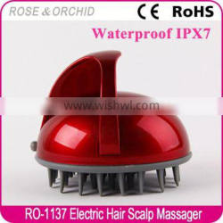 2016 hot sale silicone head massager for gift
