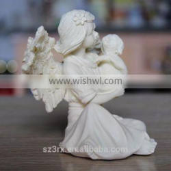 custom design resin monther and child resin statue figurine for decoration