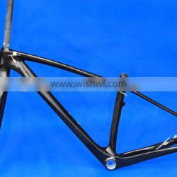 Full Carbon UD Glossy Mountain Bike MTB 29ER BB30 Frame Fork FLX-FR-217