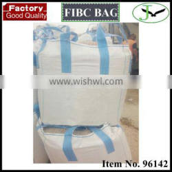 low cost 1200kg recycling pp woven jumbo bag for building materials storage