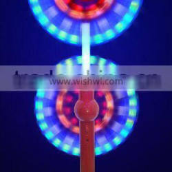 flashing led light up windmill double end windmill