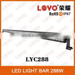 2014 New Product!! 50 inch 288w Curved LED light bar offroad LED light bar Quality Choice