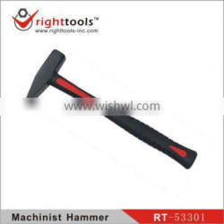 Machinist Hammer with TPR handle