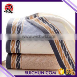 thick and big cotton face towel stock lots softtextile