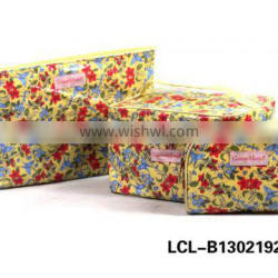 LCL-B1302192 printed pu pvc multifunction trendy make up soft fashion travel cosmetic bag