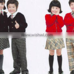 school skirt set uniform school clothes school shirt pants set children wear kids apparel