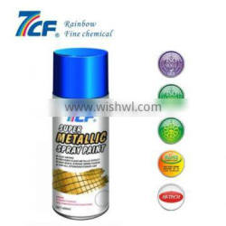 multi-function metallic effect spray paint