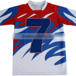 High Quality Polyester Sublimated Rugby Shirt for Team