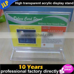 Wholesale acrylic HD transparent removable table card