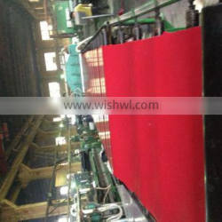 Anti-abrasive UV-resistant high tensile durable skirt rubber