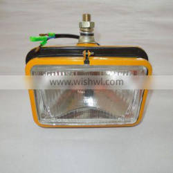 Replaceable Iron square H4 PC200-5 Lamp for Komatsu excavator 203-06-56140