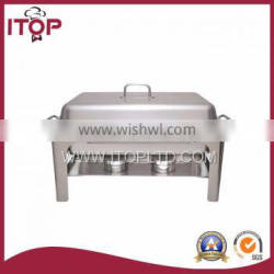 hotel equipment/square top stainless steel outdoor catering equipment