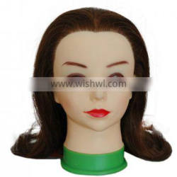 100% mannequin head/hairdresser mannequin head/ hairdressers styling head cheap price