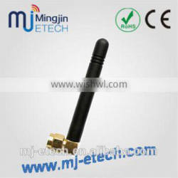 GSM/GPRS/AMPS Quad Band Antenna Rubber antenna SMA male right angle