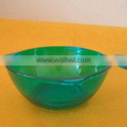 Fish shaped mini PS salad bowl