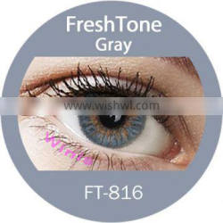 wholesale FreshTone gray tri color contact lens lentes de contactos Quality Choice