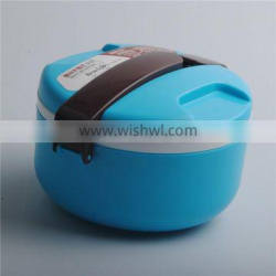 BPA Free Double Layer Plastic Hot Tiffin Lunch Box For Kids