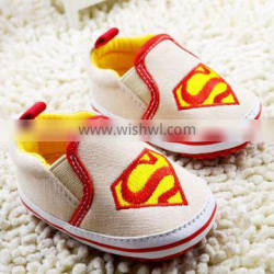 New design baby boy shoes casual canvas with soft sole