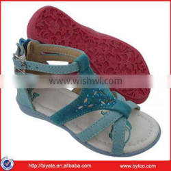 Newest girls PU sandals
