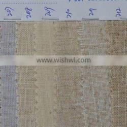 Factory Price Linen Fabric for Clothes / Table/Curtains