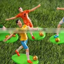 China factory provides football player product life size action figure