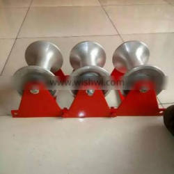 well protect roller; cable corner roller; three wheel cable roller