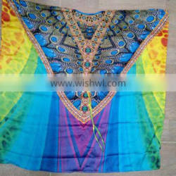 COLORFUL DIGITAL KAFTAN