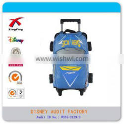 Cheap promotional kids custom trolley bags