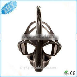 Manufacture 100% Silicone Scuba Diving Equipment Snorkel Mask Full Face