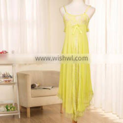 F10168A ladies sexy wholesale transparent nightgown dress sexy dress for women
