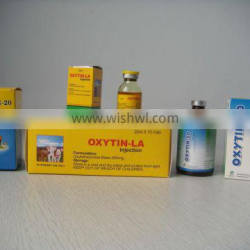 20% Oxytetracycline L.A. injection for animals