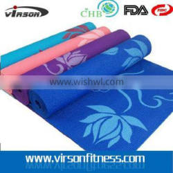 6mm OEM Custom Printed PVC Yoga Mat for Wholesale