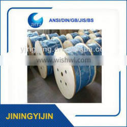 7x7 Galvanized Steel Wire Rope For Seal Cable