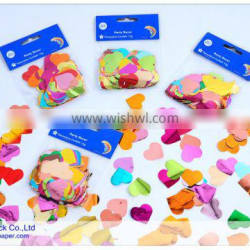 bulk metallic mylar confetti for wedding and party