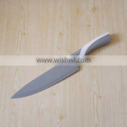 High quality stainless steel kitchen knife with color blade