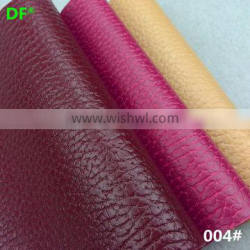 New arrival fashion pvc synthetic leather for key bag imitation leather artificial leather
