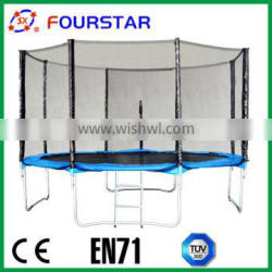 14FT cheap commercial trampoline for sale, PVC trampoline