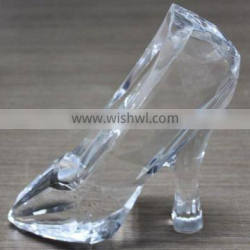 transparent crystal shoes with acrylic shoes