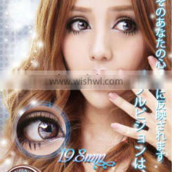 Wholesale korean 19.8mm baby doll contacts circle contact lenses / colored lens