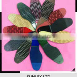 printing color profile/embossed rubber sheet