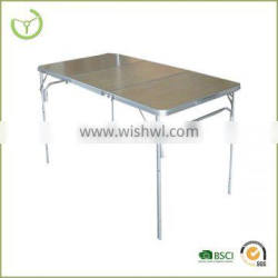 Hot sale outdoor Floding table MDF table top camping table HL-T-13025